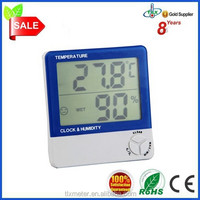 TLX TL8001 Boots Digital Thermometer Large LCD Temperature Humidity Meter Thermo-hygrometer TL8001