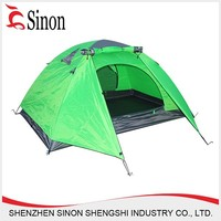 Outdoor luxury camping tent for sale double layer waterproof tent for 2 person