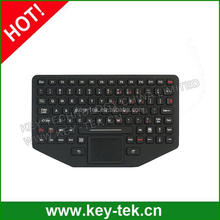 89keys OEM silicone mechanical keyboard with touchpad, military level