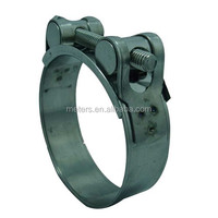 Stainless Steel 304 Heavy Duty Hose Pipe Clamp With Solid Nut Size 44-47mm