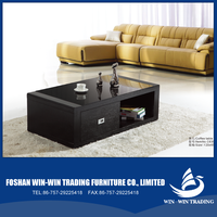2015 Hot sale new products coffee table living room furniture centre glass table living table C630