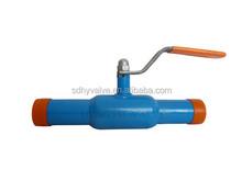 PN10/PN16 Ductile Iron full welding ball valve