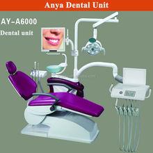Cuadros verdaderos de instrumentos dentales silla