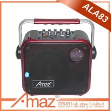 portable mini sound system mp3 player with built in speaker