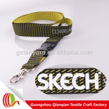 Promotion customized design silkscreen imprint lanyard