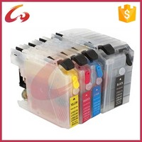 Refillable for brother lc535 lc539 ink cartridge