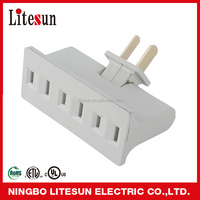 LA 7 UL CUL listed 3 outlets Polariezd current tap