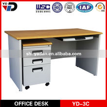 2014 the new Movable desk Office steel desk made in china Wrought iron furniture legs