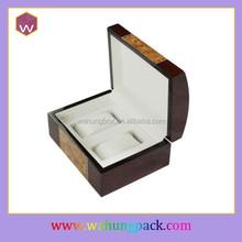 luxury a pair watch display box wood (WH-0662)