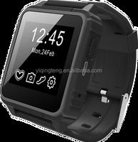 2015 New waterproof Touch screen Bluetooth Smart watch