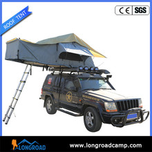 1-2 Person Type Single Layer Canvas Foldable Auto Camping Car Roof Top Tent
