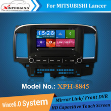 8'' touch screen car dvd gps for mitsubishi lancer