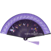 Stock products Japanese High quality bamboo hand fans