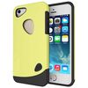 Superior design 2 in 1 Soft TPU and PC Hybrid cover for iphone 5s with different colors