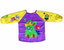 Children Cleaning Painting Plastic Art Smock