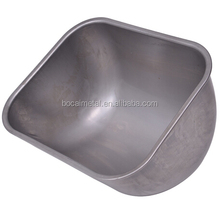 2015 Manufacturer Wholesales Stainless Steel Feeding Trough For Cattle with length 390mm