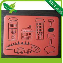 New design popular plastic drawing stencil