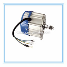 800W electric bicycle/rickshaw BLDC brushless gear motor with gear box differential rear axle in China changzhou