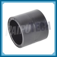 Plastic Plumbing Fittings Socket HDPE Coupler Joint Connector 20mm