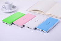 2015 newest Large Capacity Ultra thin Power Bank 10000mAh Mobile Power Supply