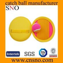 Wholesale custom hand shape beach plastic velcro catch ball