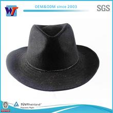 Mexican cowboy black felt hats, Australian wool winter hat