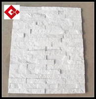 export crystal white marble culture stone in sichuan yaan
