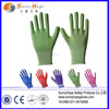 13gauge nylon shell nitrile coated gardening gloves