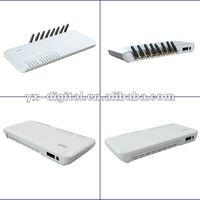 SKYLINE voip gateway 8 port gsm goip gateway /skyline giop/goip 8 firmware