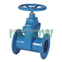 Best Quality!DIN3202 F5 PN16 RESILIENT SEAT GATE VALVE