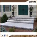 Antideslizante granito escaleras, granito blanco escalera