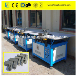 pvc refrigeration door gasket welding machine
