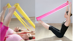 Resistance exercise Bands loop Workout Crossfit, Yoga, Pilates, Home, Physical Therapy exercise bands