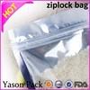 Yason custom zipper bag ziplock bags size qingdao zipper bags