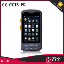 Android uhf passive rfid reader and mobile phone for library management