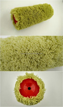 Acrylic green paint brush roller cover