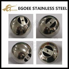 Good quality steel ball 9mm,large steel ball with hole