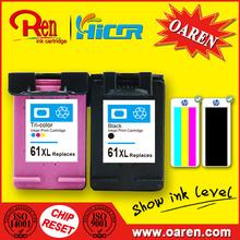 para HP61 61Xl Negro Tinta de Impressora