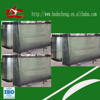 Yutong,Zhongtong,Higer,Kinglong model bus front windshield glass for sale