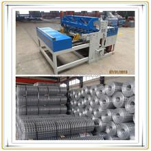 Wire mesh welding machine construction
