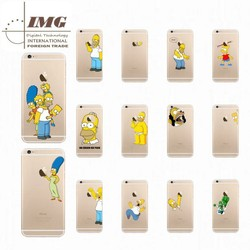 2015 Hottest TPU 0.5mm Creative Cartoon case for iphone 6, for apple iphone 6 case Customize