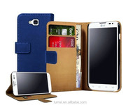 Flip Leather Wallet Case Cover & Screen Protector & Stylus Pen For LG L90/ D405N D405
