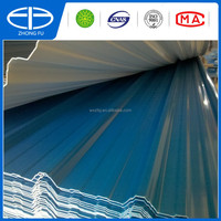 UPVC roof shingles with colour plastic corrugated sheet