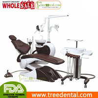 TR-S104 Luxury Mermaid Design Dental Chair Unit Handcart Type FDA & CE approved adec dental unit
