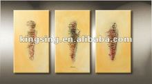 Canvas Paining Abstract of four same pictures in sizes