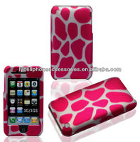 Plastic Hard Case For Iphone 3G 3GS Pink Dot Classic Design Covers