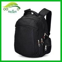3 compartment waterproof laptop backpack/secret compartment backpack