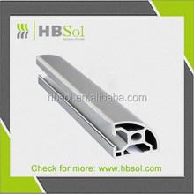 silver anodize Aluminum Profiles