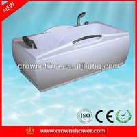 Hot sale new round acrylic bathtub,indoor whirlpool bathtub butter tubs