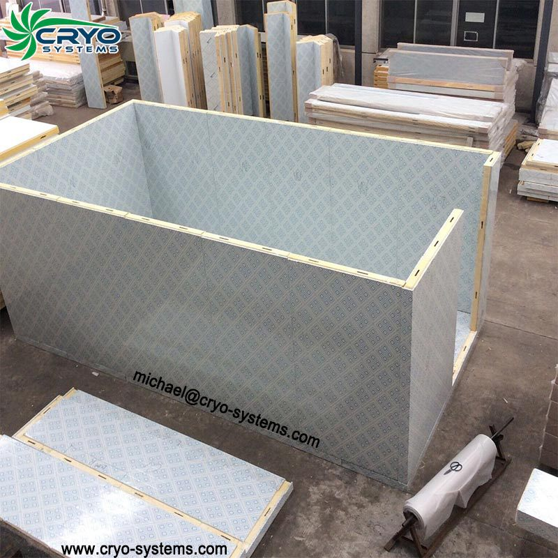 Cold room warehouse insulation sandwich floor panel price for Cold floor insulation